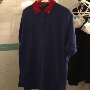 Polo red and blue tee shirt by Ralph Lauren